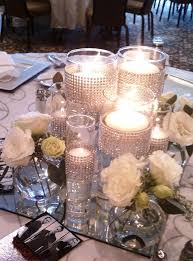 Centerpieces With Candles For Wedding Receptions by 147 Best Flower Love Wedding Centerpieces Images On Pinterest