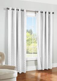 Single Window Curtain by Eleanor Jacquard Grommet Thermal Blackout Single Curtain Panel