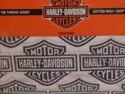 amazon com harley davidson motorcycle sheet sets twin size sheets