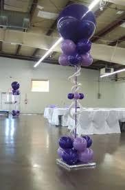 Elegant Balloon Centerpieces by Balloon Decor Gallery Fairfield County Ct U0026 Ny Globos