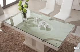 Modern Dining Room Furniture Glass Dining Tables Bar Tables And - Glass top dining table montreal
