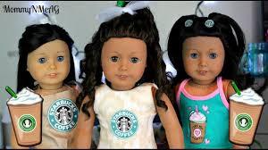 American Doll Halloween Costumes Minute Diy American Doll Starbucks Halloween Costumes