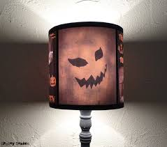 evil pumpkin lamp shade halloween decor jack o lantern