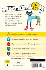 pete the cat halloween pete the cat too cool for my first i can read james
