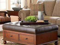 Ottoman Table Storage by Coffee Table Leather Ottomans Coffee Table Storage Club Furniture