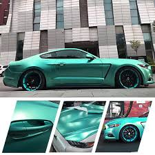 new carbins vinyl car wrap product eletric blue color