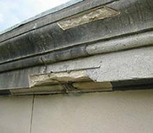 Cornice Repairs Stone Repair Mortar For Natural Stone Repairs