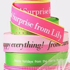 printed ribbons personalized ribbons name maker