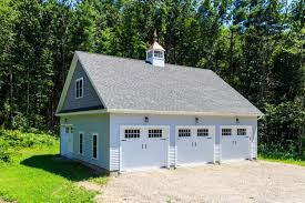 34 x 38 newport 3 car garage the barn yard great country garages 34 x 38 newport 3 car garage