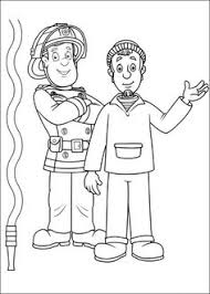 fireman sam character printable images kids cartoon figures