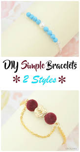 diy simple bracelet images Vikalpah diy simple bracelets 2 styles jpg