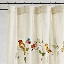 Bird Shower Curtain Rings Shower Curtains Unique Curtains U0026 Rings Pier 1 Imports