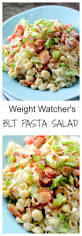 Mexican Pasta Salad Weight Watcher U0027s Blt Pasta Salad U2013 Recipe Diaries