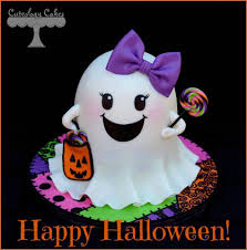 Halloween Ghost Cake by Cuteology Cakes Home Facebook