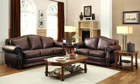 Ebay Brown Leather Sofa Brown Leather Furniture Set Sa Sa Sa Brown Leather Sofa Set Ebay