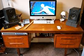 Build A Studio Desk Plans by Build Studio Workstation Desk Plans Diy Wood Dye Observant47nbk