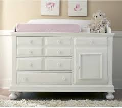 Nursery Dresser With Changing Table Creations Baby Summers Evening Combo Dresser Rubbed White