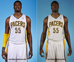 Roy Hibbert Memes - roy hibbert 2012 to 2013 media day picture comparison