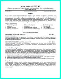 Deli Job Description For Resume by Cool Construction Project Manager Resume To Get Applied