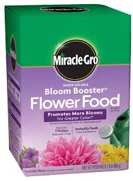 flower food packets miracle gro water soluble bloom booster flower food plant food