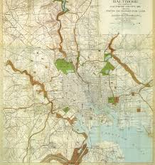Map Of Baltimore Md History Friends Of Maryland U0027s Olmsted Parks U0026 Landscapes