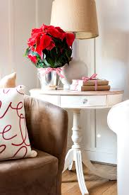 christmas home tour simple side table decorating ideas