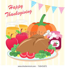 thanksgiving your concept stock vector