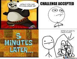Meme Fu - person vs kung fu panda by recyclebin meme center