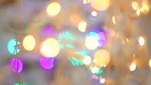 blured blue lights loopable backgrounds stock footage
