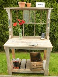 Merry Garden Potting Bench by Dream Garden Woodworks