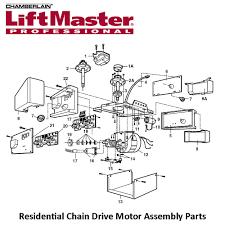 liftmaster garage door opener parts diagram wageuzi