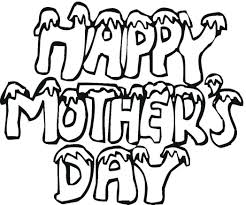 mother day greeting free coloring pages print 544246 coloring