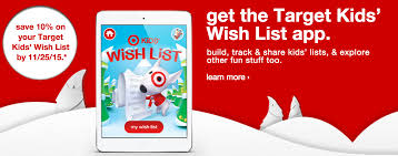 wish list app target wish list app use it and save an additional 10