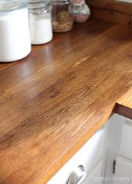 Laminate Flooring As Countertop Keeping It Cozy All About Butcher Block Countertops