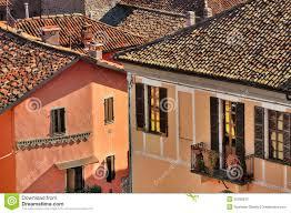 Italy Houses Italian Houses Diano D U0027alba Italy Stock Photos Image 35295873