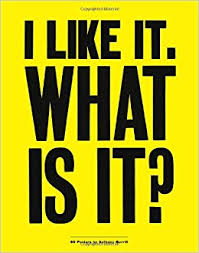 i like it what is it 30 detachable posters anthony burrill
