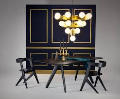 slab chair black chairs tom dixon