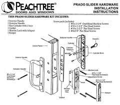 Peachtree Exterior Doors Peachtree Replacement Hardware Parts For Doors Windows Citadel