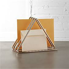 Stainless Steel Desk Accessories Unique Office Supplies And Modern Desk Accessories Cb2