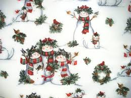 susan winget snowman fabric christmas fabric by the yard