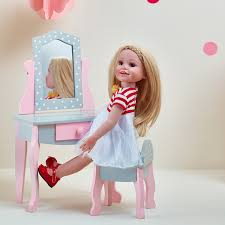 childs vanity table amazon com olivia u0027s little world princess 18 inch doll