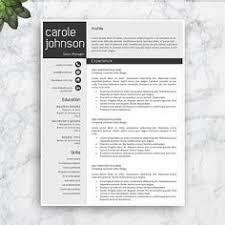 resume template professional resume template modern resume