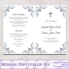 church wedding programs catholic church wedding booklet template 28 images catholic