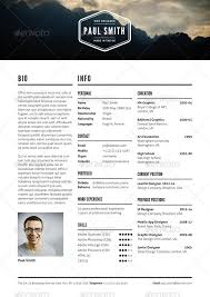 Job Resume Template by Job Resume By Ikonome Graphicriver