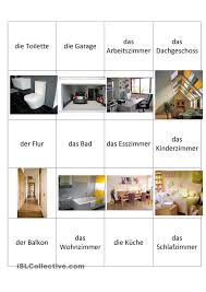 Schlafzimmer Englisch Vokabeln Wortschatz Zum Thema Wohnung Wortschatz Deutsch Und Arbeitsblätter