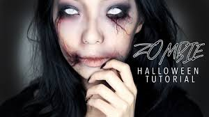 Vampire Halloween Makeup Tutorial Creepy Zombie Halloween Makeup Tutorial Youtube