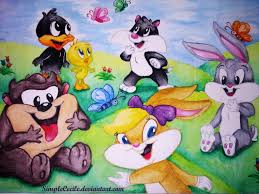 looney tunes baby shower baby looney tunes by simplececile on deviantart