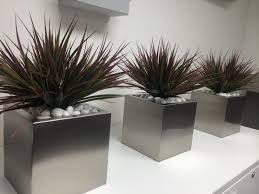 cute cubes stainless steel planters www 88urbanstyle com au