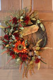 Halloween Wreath Ideas Front Door 40 Best For Fall Images On Pinterest Fall Halloween Ideas And