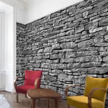 Wohnzimmer Design Mit Stein Uncategorized Geräumiges Ideen Steintapete Und Best Stein Tapete